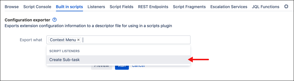 Built-in Scripts